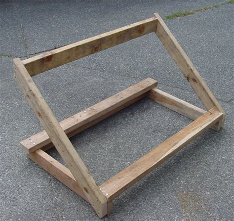 Tire Rack Design by Tools And Machines Tire Racks Made From Wood