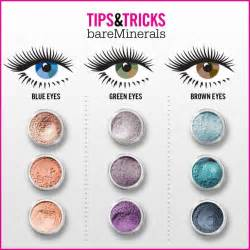 blue eye color chart bare minerals eye makeup tips tricks chart purple is