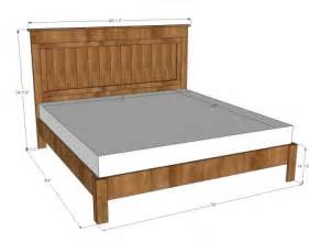 Where To Buy A Size Bed Frame King Size Bed Plans Dimensions Pdf Woodworking