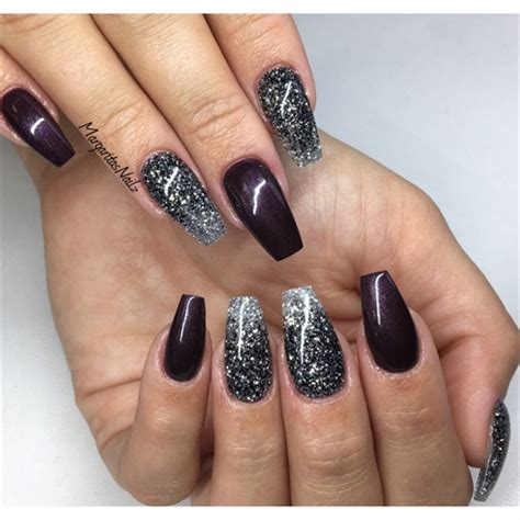 Nägel Muster Glitzer 3428 by Glitter Ombr 233 Coffin Nails Nail Gallery