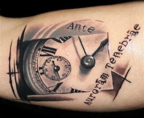 time tattoo 10 best trash polka images on trash
