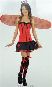 halloween costumes for girls size 10 12 ladybug girls 8 10 12 dress up halloween costume lady bug