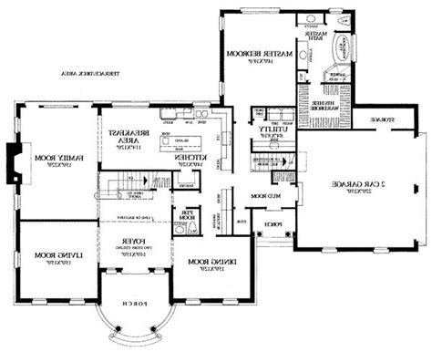floor plan architectural drawing design plans clipgoo