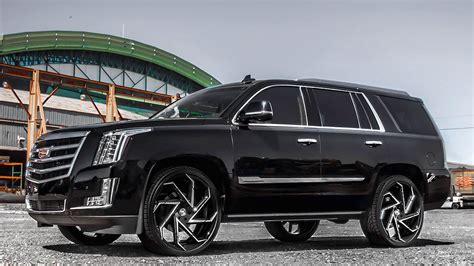 cadillac escalade custom cadillac escalade gets 26 quot custom lexani wheels
