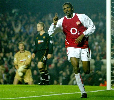 arsenal match today arsenal legend kanu backs himself to score a hat trick in