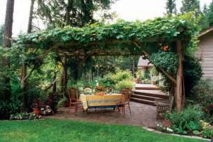 Landscaping With Pergolas by Create An Edible Landscape Organic Gardening Mother