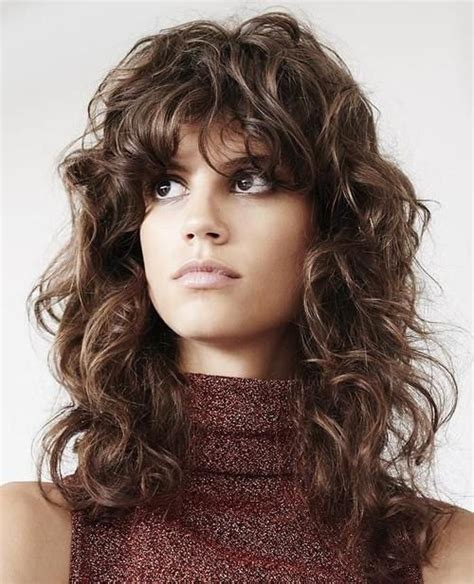 best shag haircuts 15 best shag haircut curly images on curls hair cut and hairdos