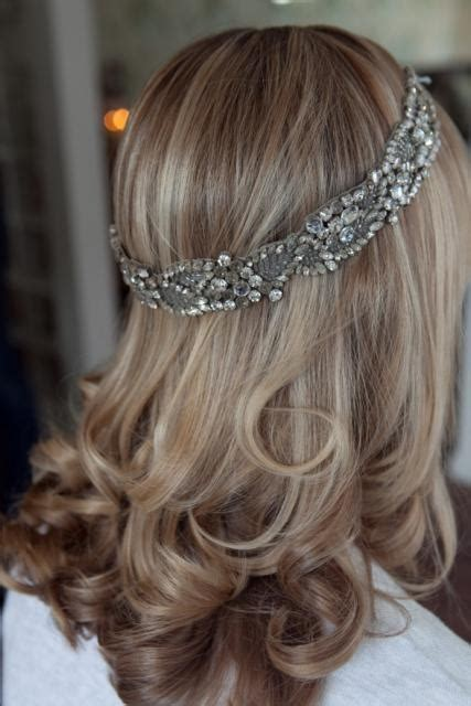hairstyles with jeweled headband 130 best jewelry trends images on pinterest charm