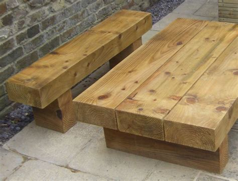 Garden Furniture Made From Railway Sleepers roy s garden furniture from new railway sleepers