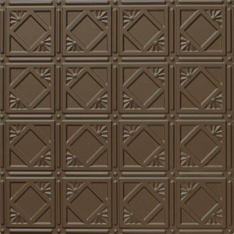 Ceiling Tile Grid System by Global Specialty Products Dimensions 2 Ft X 2 Ft Bronze