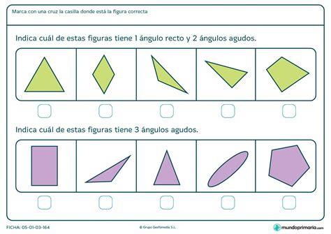 figuras geometricas y sus angulos ficha de 225 ngulos agudos para primaria