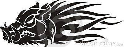 tribal boar tattoo 38 best tribal boar tattoos designs images on
