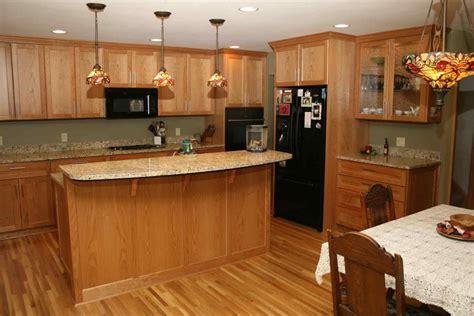 color wood floor   oak cabinets sofa cope