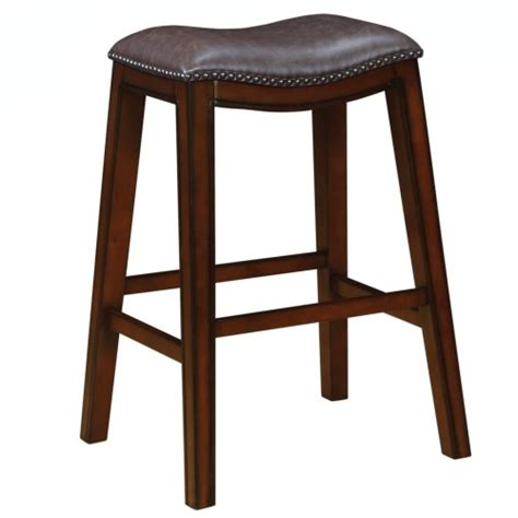 Upholstered Bar Stools With Nailheads by Coaster Dining Chairs And Bar Stools Upholstered Backless
