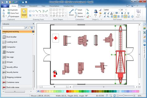 design layout software plant layout plans solution conceptdraw com