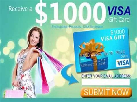 Get A Free 1000 Visa Gift Card - free visa card where to get visa gift cards get 1000 visa gift card free us only
