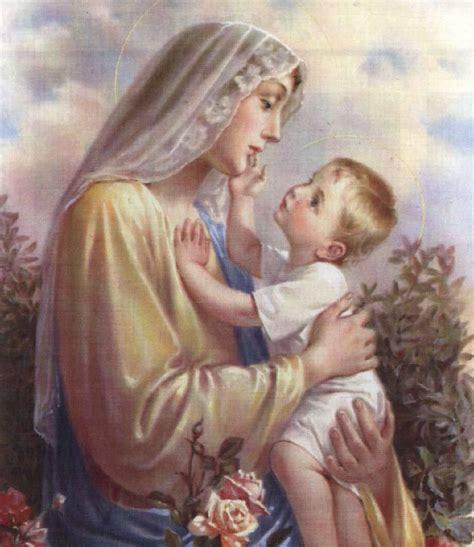 imagenes de la virgen maria y su hijo universo joven donbosco es