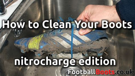 how to clean football shoes how to clean your football boots nitrocharge edition