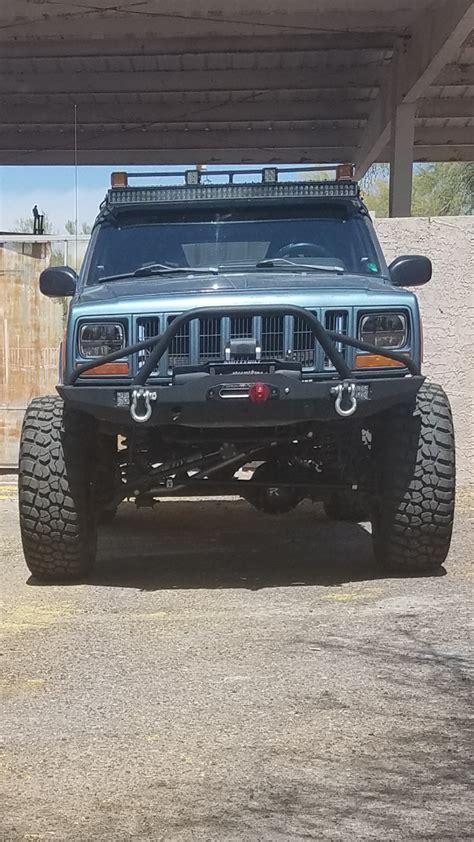 hunting jeep cherokee 1999 jeep cherokee xj 4x4 5 speed long arm hunting rig