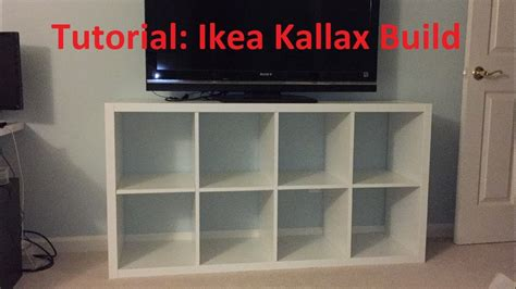 kallax 2x2 tutorial ikea kallax expedit build