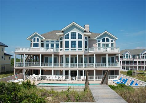 obx rental houses twiddy outer banks vacation rentals oceanfront rentals
