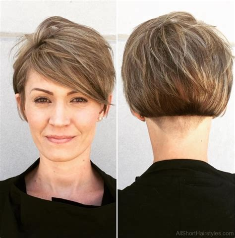 very short side parted hairstyle pictures 40 east short layered hairstyles