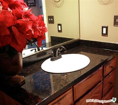 how to spray paint ugly laminate countertops home 17 best images about bathroom on pinterest on friday