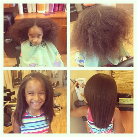flat ironed hairstyles for kids 1000 images about natural kids flat ironed on pinterest
