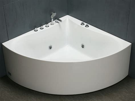 baignoire d angle agyness 1 place 263l 8 hydrojets