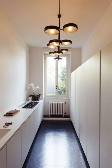 narrow kitchen ideas best 25 long narrow kitchen ideas on pinterest narrow