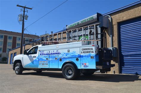Westside Plumbing by Plumbing Truck Wrap Westside Plumbing In Fort Worth