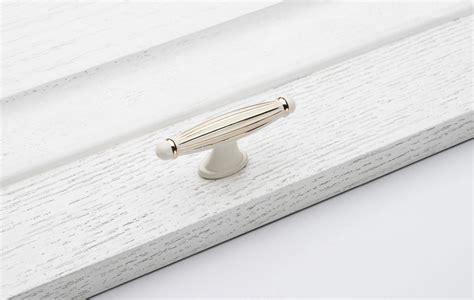 single cabinet handles fashion 10pcs single ivory white drawer handle luxury