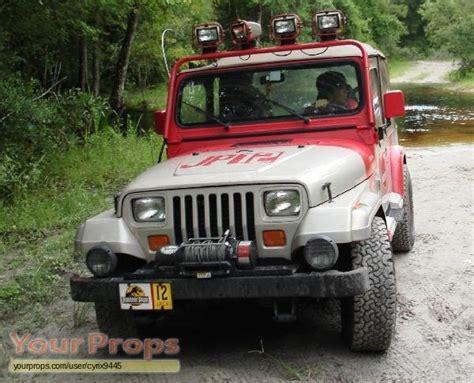 Jurassic Park Jeep 12 Jurassic Park Jurassic Park Jeep Replica Prop