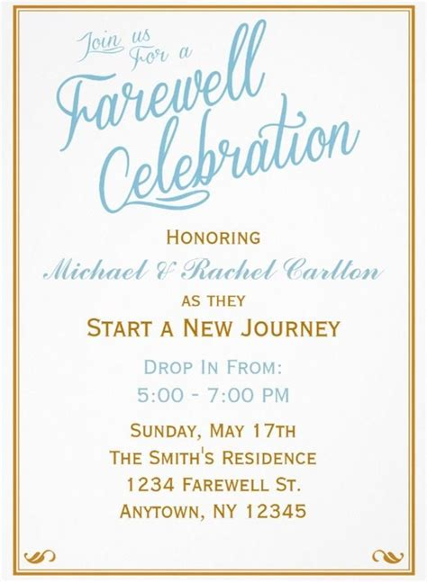 Best 25 Farewell Parties Ideas On Pinterest Farwell Party Ideas Fairwell Gifts And Goodbye Party Free Farewell Invitation Templates