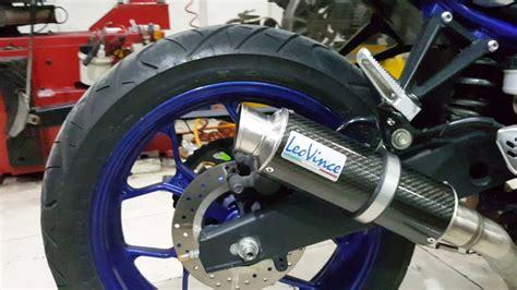 knalpot leovince gp corsa yamaha mt25 xtreme motor sport