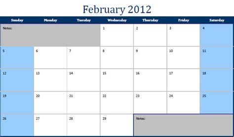 February 2012 Calendar Printable Pdf February 2012 Calendar February 2012