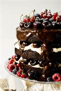 This black forest gateau is simple to create yet an undertaking at