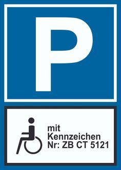 Aufkleber Kennzeichen Verboten by Parkverbot Halteverbot Schild Individuell Mit Kennzeichen