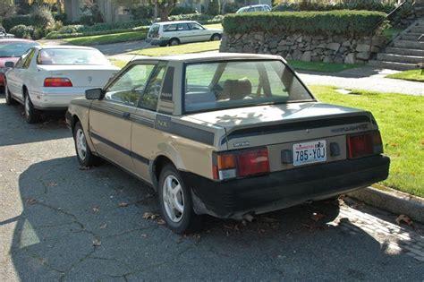 nissan pulsar 1983 old parked cars 1983 datsun nissan pulsar nx