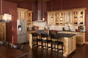 Kitchen Islands And Breakfast Bars cottage hickory cabinets craftsman kitchen dc metro