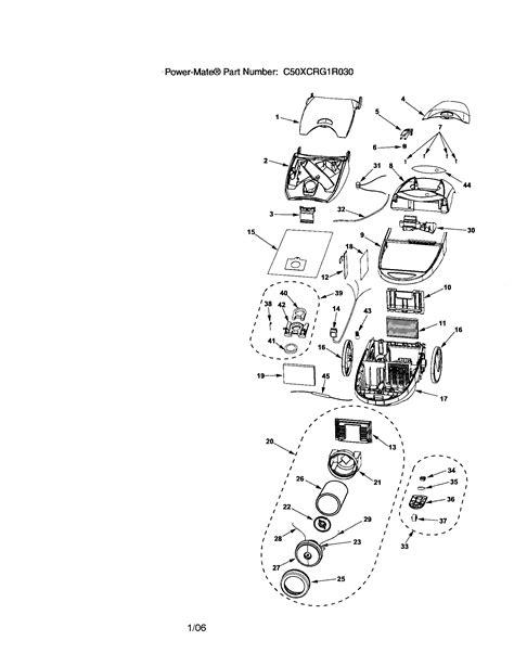 kenmore vacuum model 116 parts diagram kenmore vacuum model 116 parts diagram kenmore