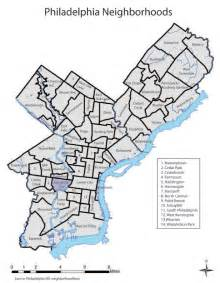 map of philadelphia neighborhoods posted by rhiannon at