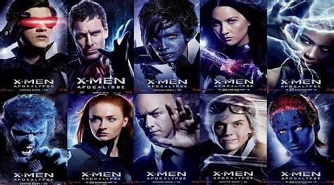 imagenes de x men en 3d mutantes de la saga x men que deber 237 an llegar al cine de