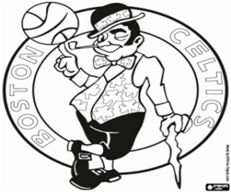 nba logos coloring pages printable games