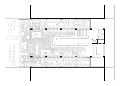 floor plan art coffee shop 314 architecture studio archdaily