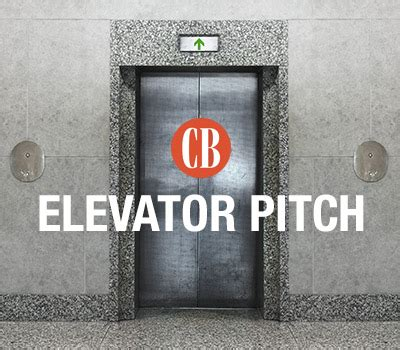 Elevator Pitch Mba by The Cb Elevator Pitch Get More On Corporate Boards