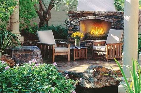 backyard l post rustic landscaping ideas for front yard garden post and