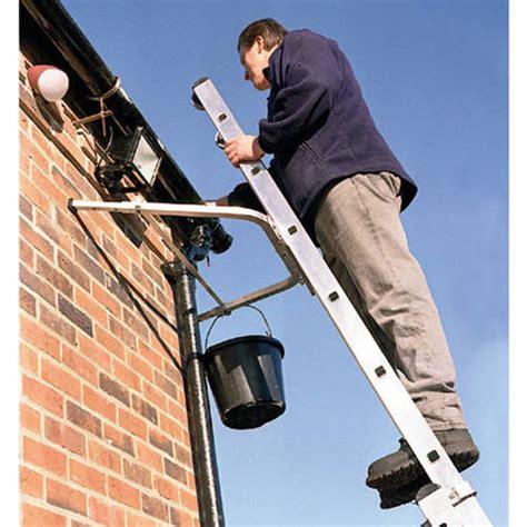 ladder roof standoff adjustable ladder stand bracket machine mart