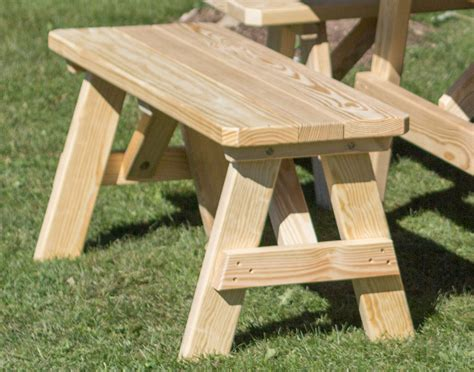 picnic tables with benches treated pine wide picnic table w traditional benches