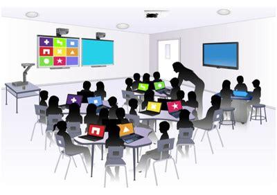 Drawing 1 Class In College by Creative And Smart Lg Cns 교육평등을 실현하는 Ict 기술과 스마트 스쿨